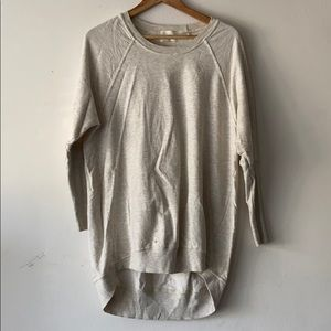 t.la cream long sleeve sweater xs